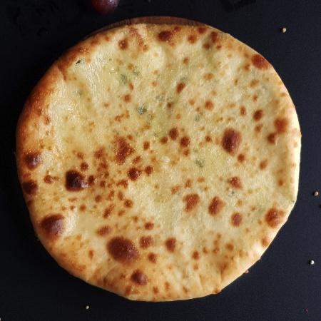 хачапури с острым картофелем